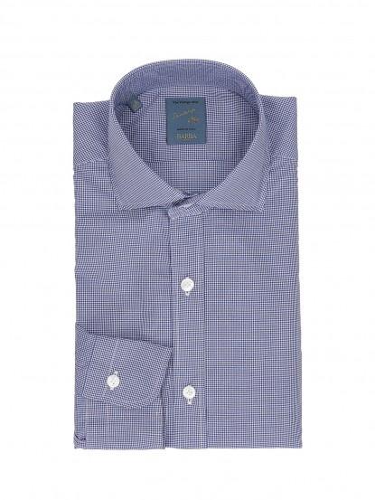 Camicia Dandy Life cotone 100% washed collo francese