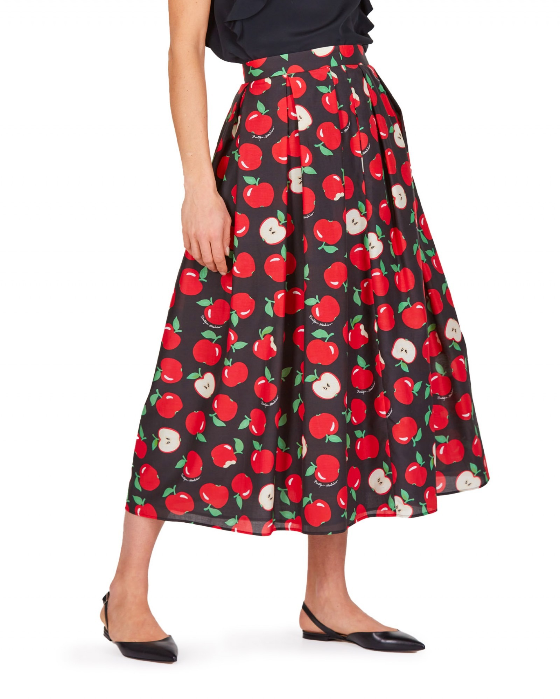 Boutique Moschino - Gonna nera con mele rosse - E9021 - 0108-0847-J1555