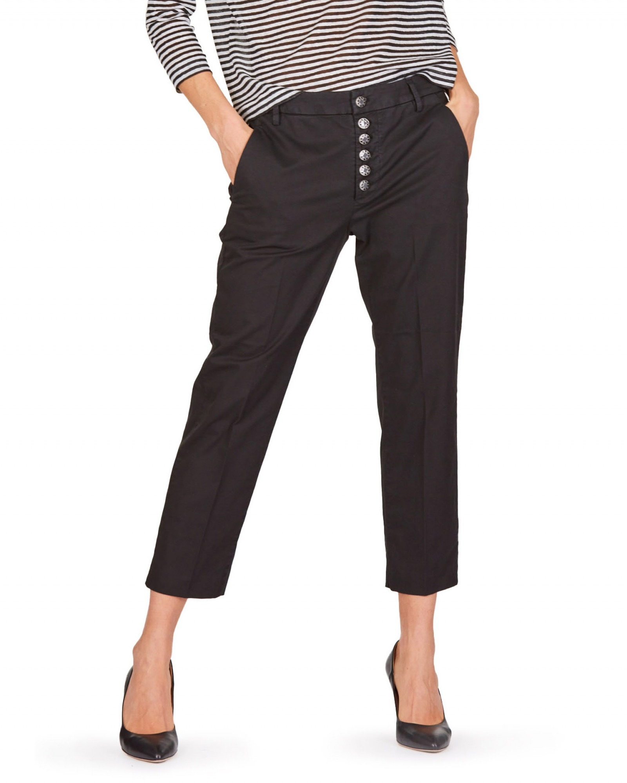 Dondup - Pantaloni Nima nero - E9021 - DP576-NIMA-GSE046PTD-999