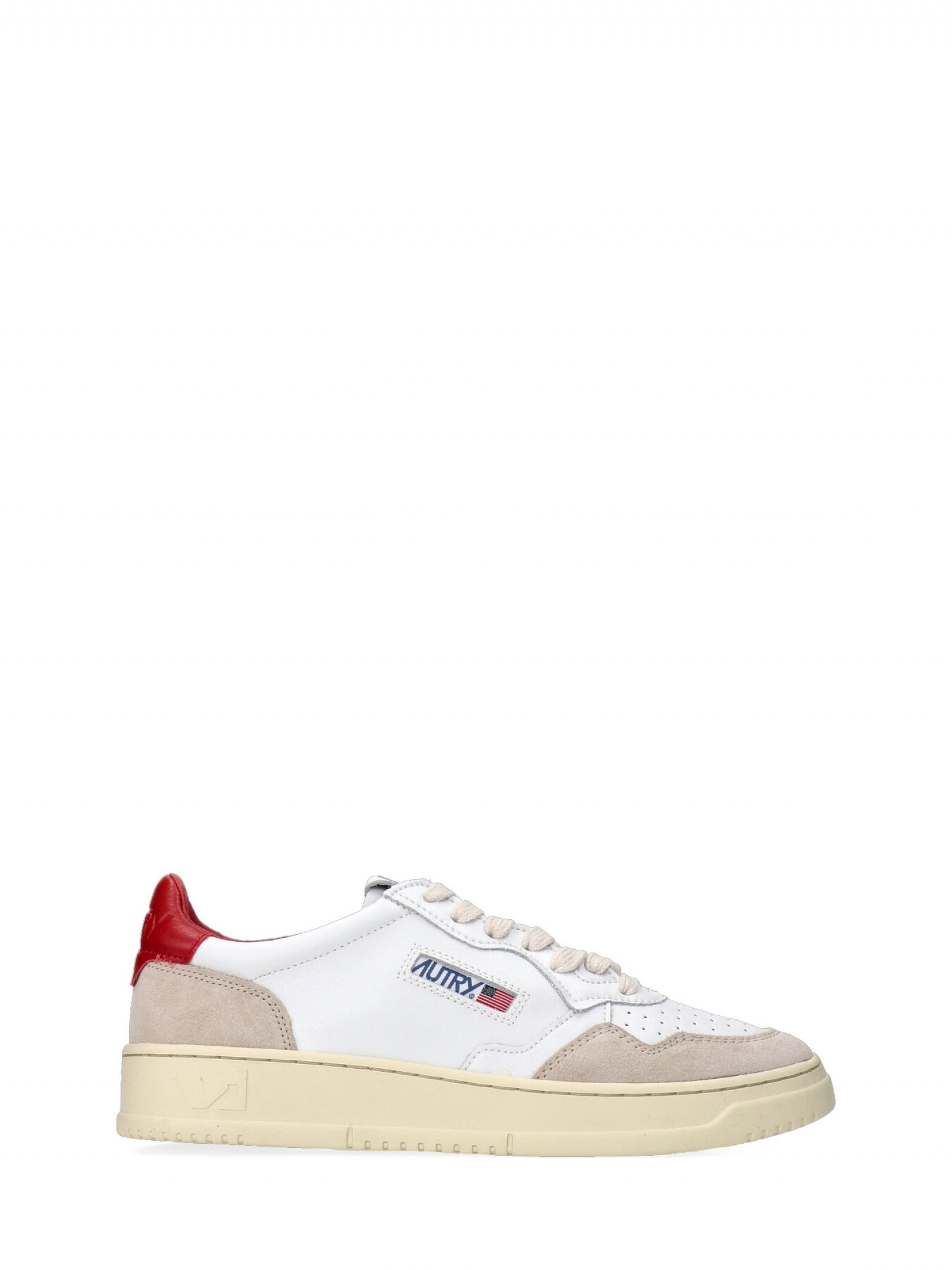 Autry -  - E9021 - AULMLS38-WHT-RED
