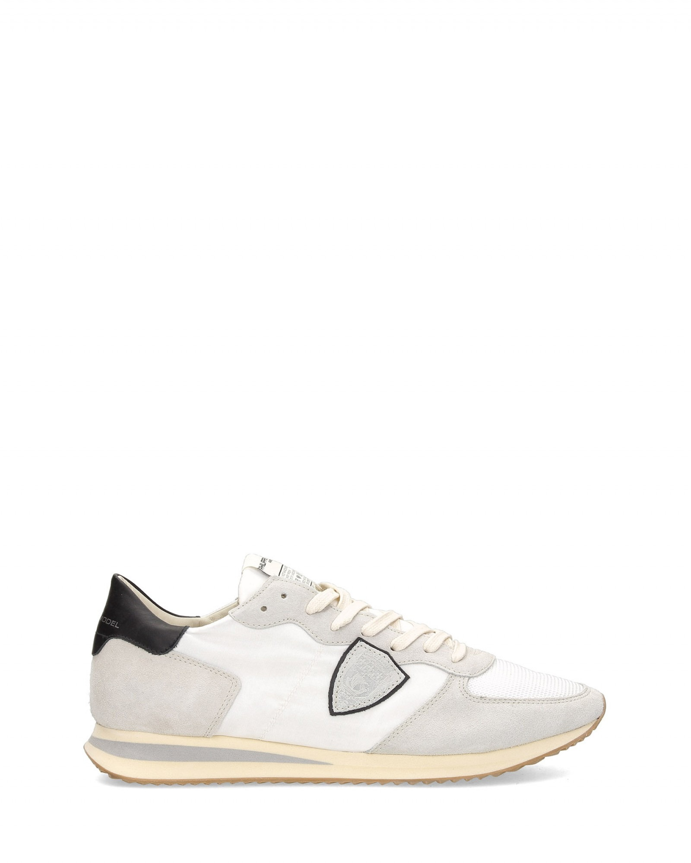Philippe Model - Sneaker Tropez vintage bimateriale nylon suede - I8920 - TWLU-WS06