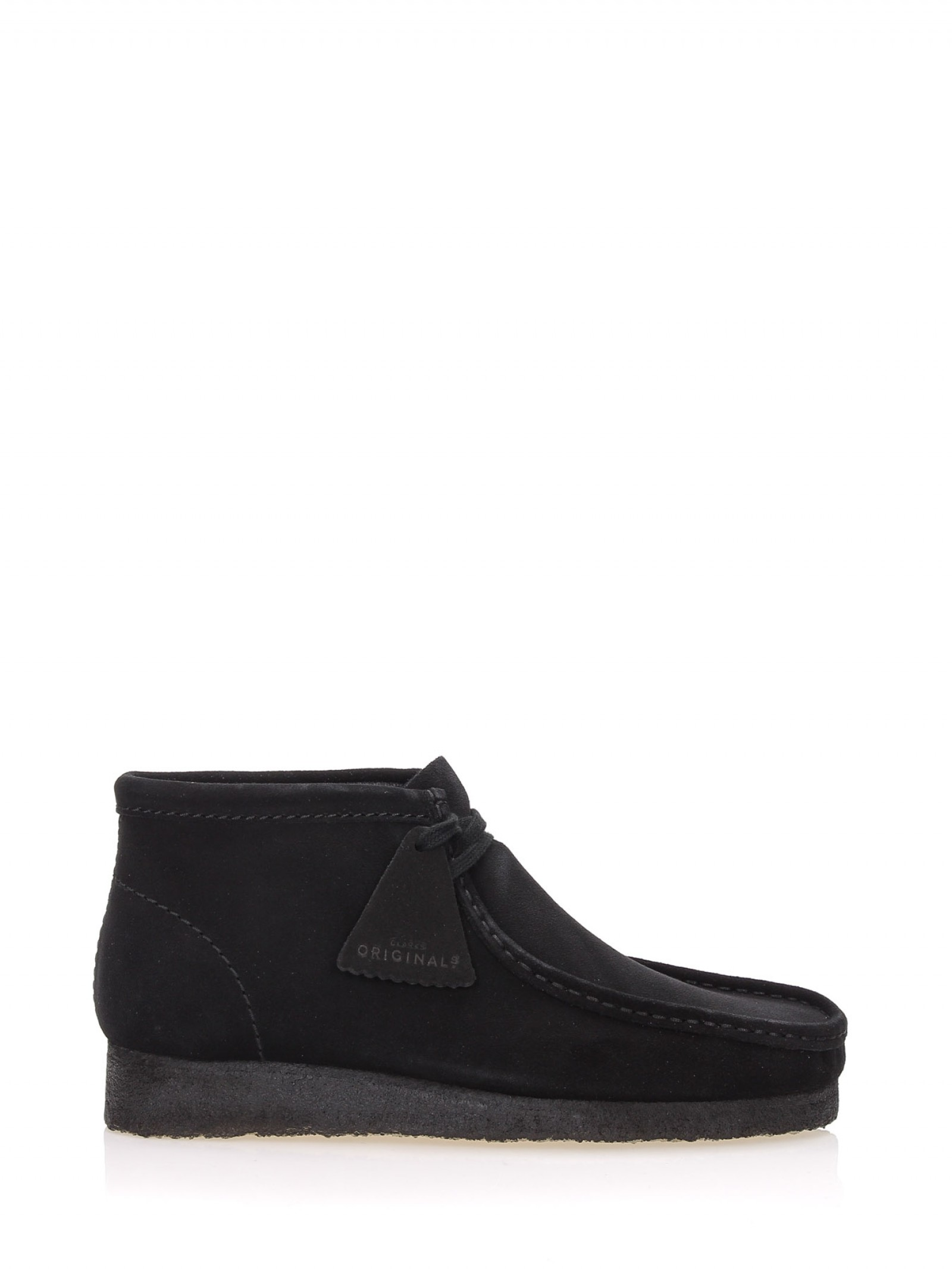 WALLABEE-BOOT-SUEDE-BLACK - Clarks - I8518