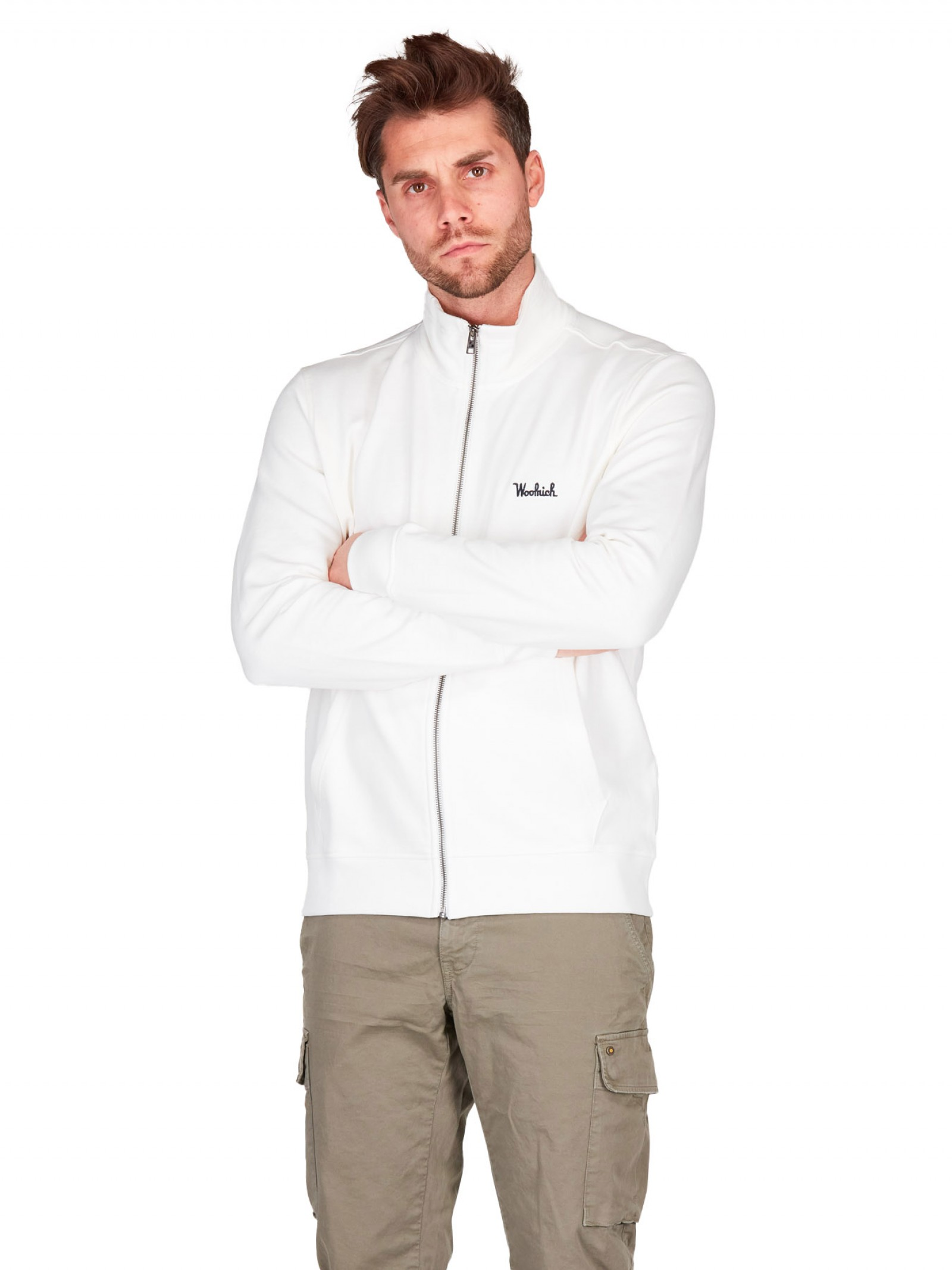 Woolrich - Track Essential,full zip - E9021 - WOSW0092-UT2544-8041
