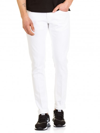 Jeans George Bull denim bianco